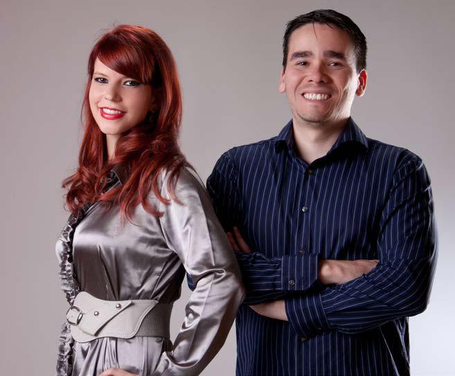 Dr Rafael e Dra.Tássita. Seu sorriso lindo e saudável