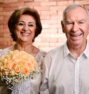 O amor de Zilma e Darnis: 50 anos de uma bela história