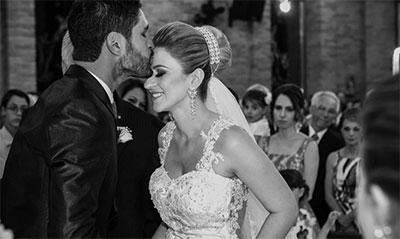 O dia do Sim do casal - Luciene Martinazzo & Belchior da Rocha Costa