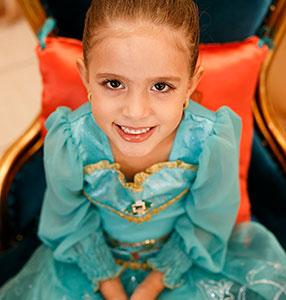 5 anos de Raphaela