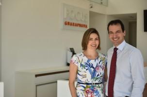 Dr. Tulio Paiato e Dra. Janaina Zamuner Sanchez Paiato
