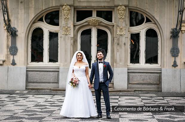 Destaque casamento Bárbara&Frank