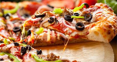 Pizza! Sempre uma boa pedida