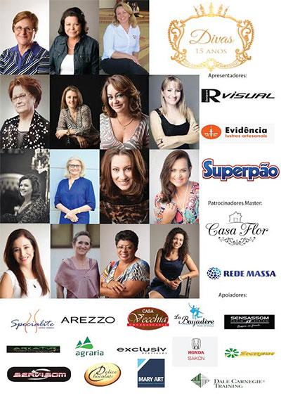 Revista Visual Guarapuava apresenta as Divas 2015