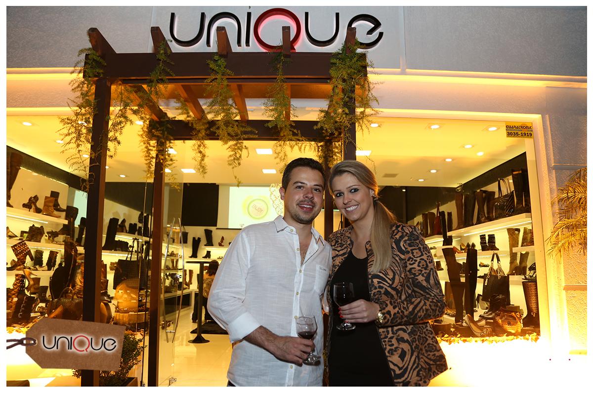 Degustação de vinhos marca lançamento de coleção na Unique