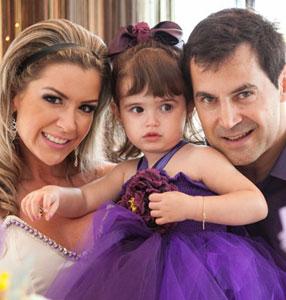 Gisella Cortesia sopra velinhas de 2 anos