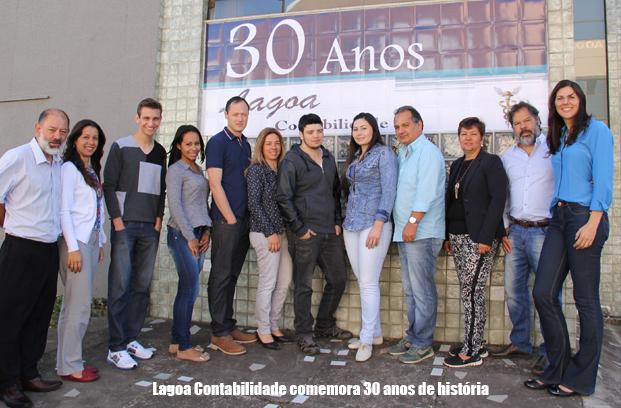 Lagoa Contabilidade comemora 30 anos de história